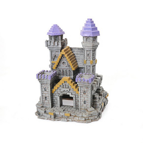 Rosewood 3D Block Castle Small