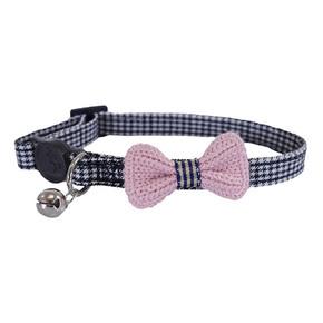 Designer Pink Bow Collar