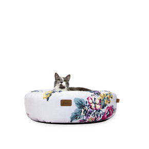 Joules Floral Donut Bed