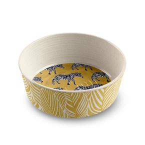 Safari Zebra Pet Bowl Medium