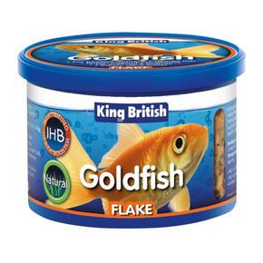 King British Goldfish Flakes