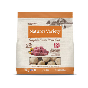 Natures Variety Freezed Dried Dog Food Beef