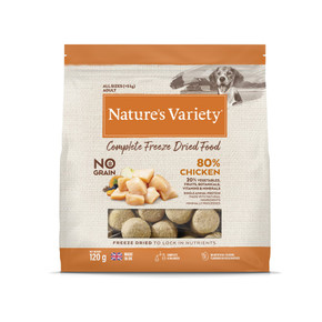 Natures Variety Freezed Dried Dog Food Chicken