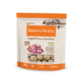 Natures Variety Freezed Dried Dog Food Lamb