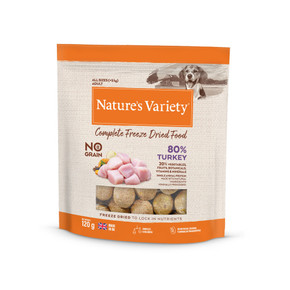 Natures Variety Freeze Dried Dog Food Turkey