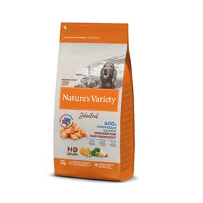 Natures Variety Medium Adult Freeze Dried Dog Food Norwegian Salmon 2kg