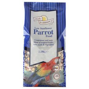 Walter Harrisons Low Sunflower Parrot Food 2.25kg