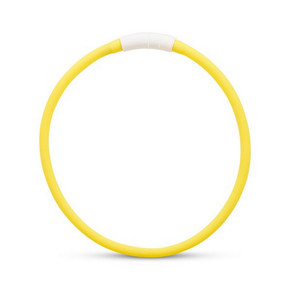 Flashing Safety Rechargeable LED Loop Large Yellow 65cm