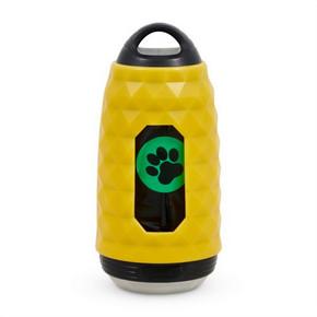Flashing Safety Poop Bag Holder & Torch