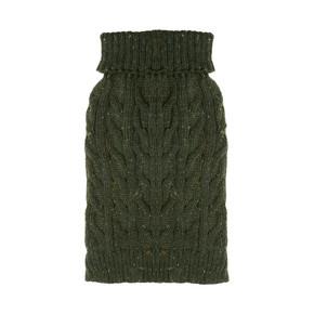 Happy Pet Cable Knit Jumper Woodland