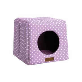 Little Rascals Cosy Cube Lilac Spot