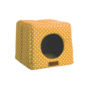 Little Rascals Cosy Cube Mustard Spot