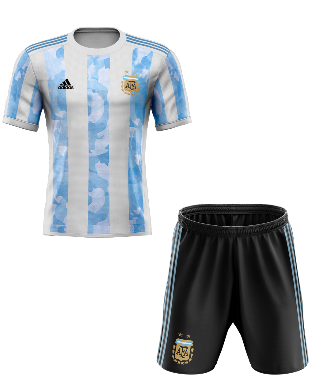 2020 Argentina Home Kids Kit With Free Name And Number Ck4u