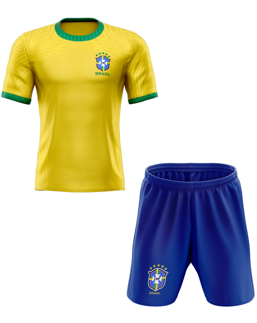 Brazil 2020 International Home Kids Kit with free name and number