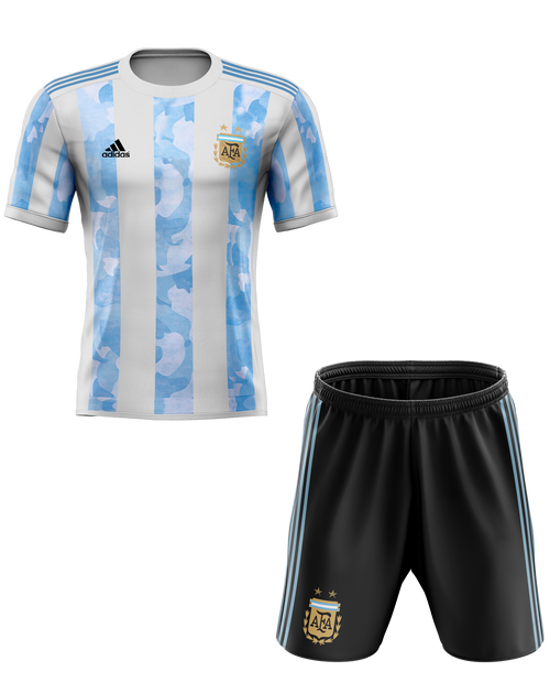 2020 Argentina Home Kids Kit with free name and number