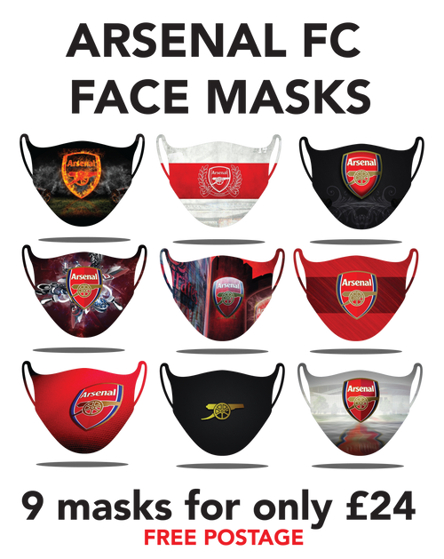 Ars. Protective washable face masks. Fits kids or adults, 9pcs for only 24pounds