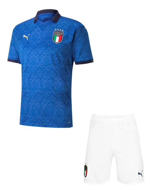 20/21 Italy Home Kids Kit with free name and number