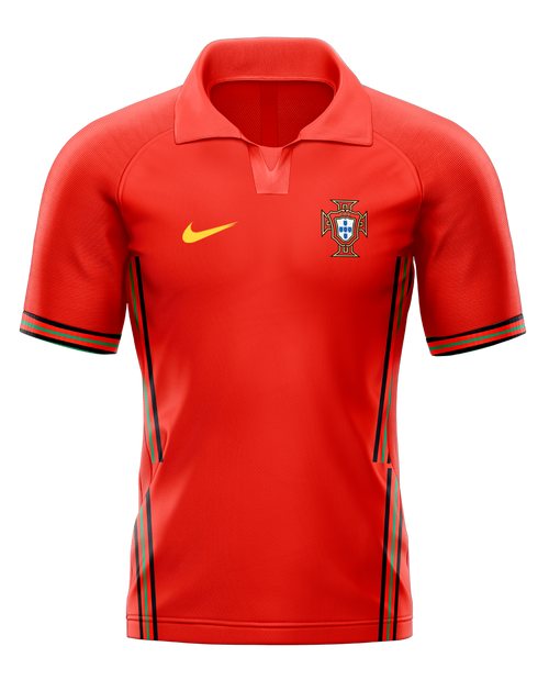2020 Portugal Home Shirt