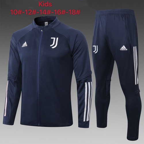 Juventus kids tracksuit Set Zip Jacket and Trousers Navy