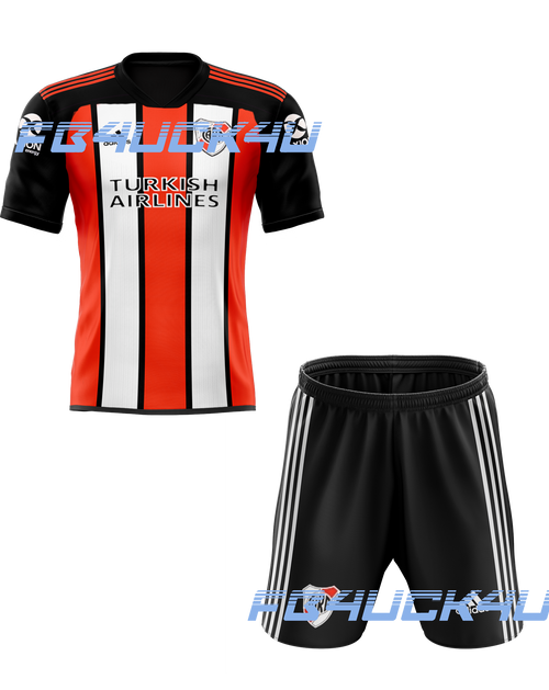 21/22 River Plate home Kids Kit with free name and number