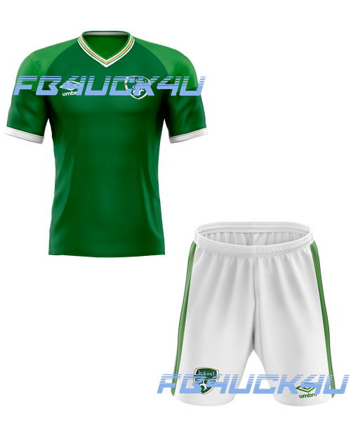 2021 Ireland Home Kids Kit with free name and number