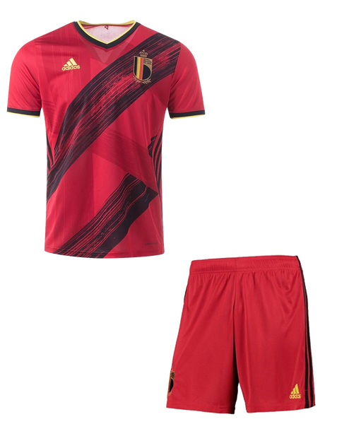 20/21 Belgium Home Kids Kit with free name and number