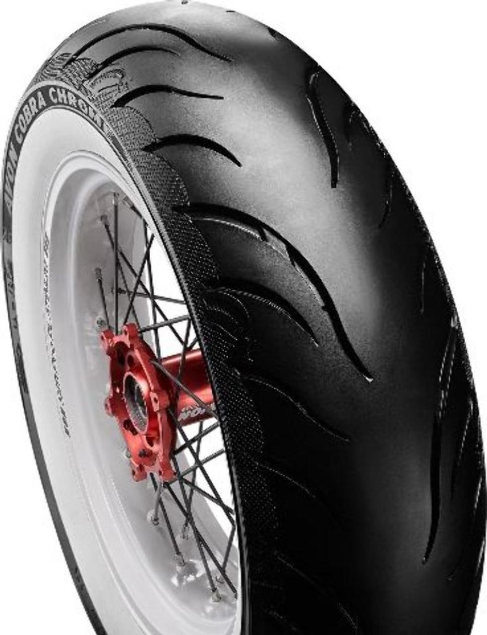 Avon 150//80-16 71H Tubeless Cobra Chrome Motorcycle Front Tyre