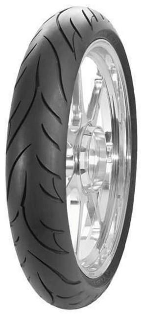 Avon Cobra Chrome AV91 Front Motorcycle Tire 100//90-19 Wide White Wall for Kawasaki Vulcan EN500 1990-1996 57V