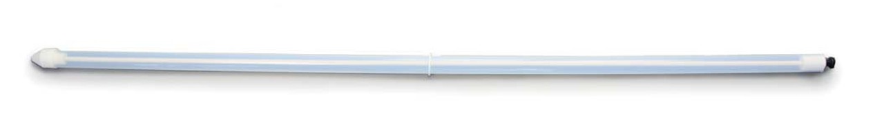Quick & easy to use A 5 ml sample will be taken for every 10 mm the Liquid Master is inserted into the product