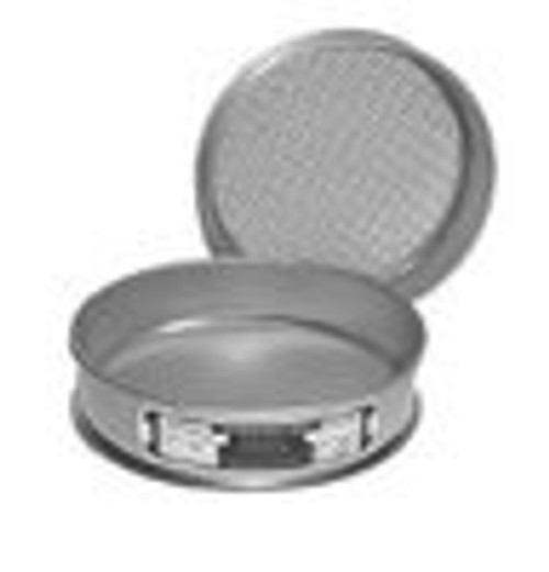 SIEVE 12 INCH SS ECON SIEVE US STD .025 mm__ASTM #500__TYLER na FULL HEIGHT
