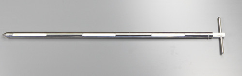 Part No. 675 1220A900 Description Pocket Sampler 900mm Material of Construction: Outer Rod: 316 stainless steel Tip: 316 stainless steel Handle: 316 stainless steel Inner Rod: PTFE Outer Diameter of Outer Tube: 25 mm Overall Length: 900 mm Pocket Length: 135 mm Pocket Width: 11 mm Pocket Volume: 20 ml Number of Pockets 3 Pocket Positions: External Finish: <1 Micron Ra Internal Pocket Finish: Fine machined finish Nominal Weight of Sampler: 1.5 Kg