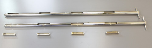 • 316 stainless steel construction • Variable sample volumes 5ml to 60ml • Range of sampler lengths • Suitable for free fl owing powders and granules