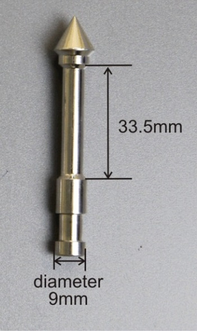 Powder Thief Sampling Tip for 12.5 mm Diameter Powder Thief Nominal Volume 1.0 ml Weight 24 gm Materials of Construction: Tip 316 stainless steel Collar PTFE Finish: <1 microns Ra Recommended Storage Conditions: Dry and ambient temperature
