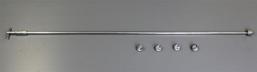 U-D Cohesive Sampler Set - consisting of: 1 Handle, Sample Cells - 1 each of: 0.25ml, 0.5ml, 0.75ml and 1.0ml 1 Standard Sampler Case