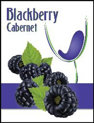 Blackberry Mist Wine Labels 30/Pack. For use with Island Mist Blackberry Cabernet