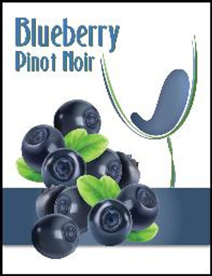 Blueberry Mist Wine Labels 30/Pack. For use with Island Mist Blueberry Pinot Noir.