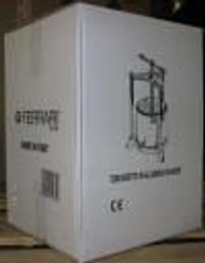 Aluminum/Stainless Steel Press