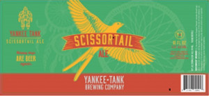 HPS - Pro Line SissorTail Ale, brewed by Angelo at Yankee Tank Brewing, Lawrence Ks. This balanced and sessionable light ale is thirst quenching and refreshing on the hottest of days. But it's beautiful color, taste, and floral aroma also make it a good four season choice.
