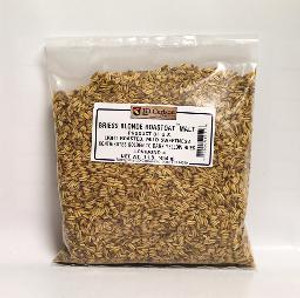 BRIESS BLONDE ROASTOAT MALT 1 LB. Contributes a golden to dark yellow hue with light roast and mild sweet flavors. This product must be milled prior to mashing. Gap setting adjustment is recommended as this product is thinner than whole kernel barley.
