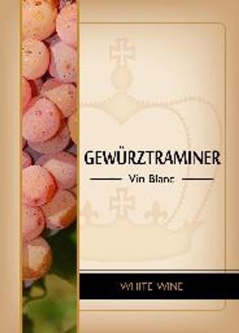 Gewurztraminer Labels