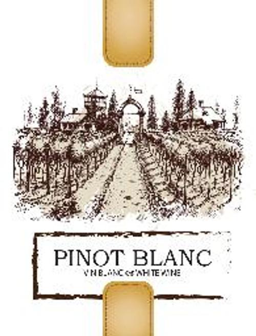 Pinot Blanc Labels