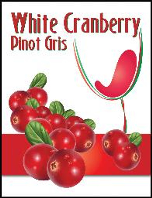 Cranberry Mist Wine Labels 30/Pack. For use with Island Mist White Cranberry Pinot Gris or Cranberry Malbec.