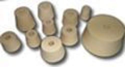 #7 Drilled Rubber Stopper