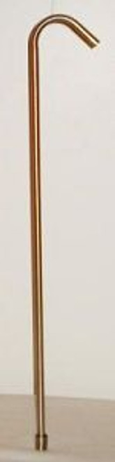 """24"""" SS Racking Cane With Tip"""