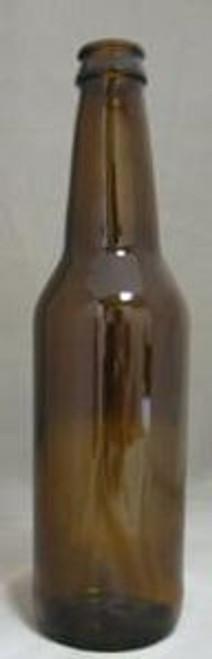 12 Oz. Beer Bottle-Amber