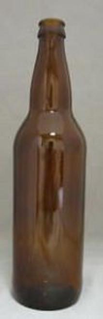 22 Oz. Beer Bottle-Amber