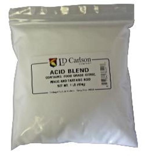 Blend of tartaric, malic and citric acids