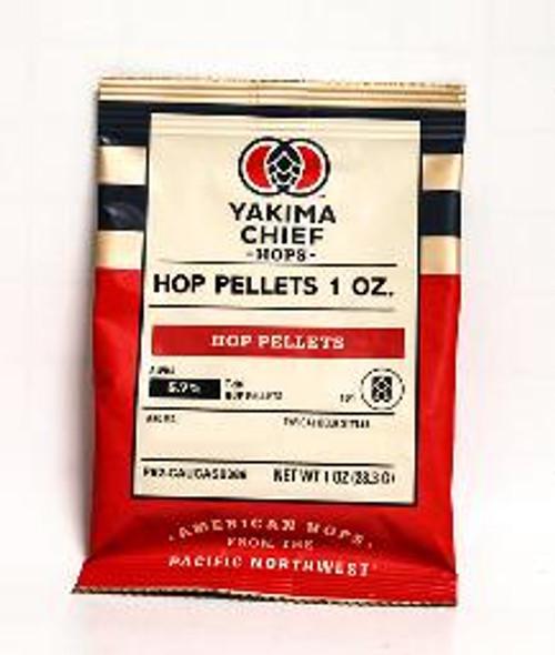 United Kingdom Challenger Hop Pellets 1 Oz. Cedar, green tea and sweet floral characteristics.  Alpha Acid: 5.1%