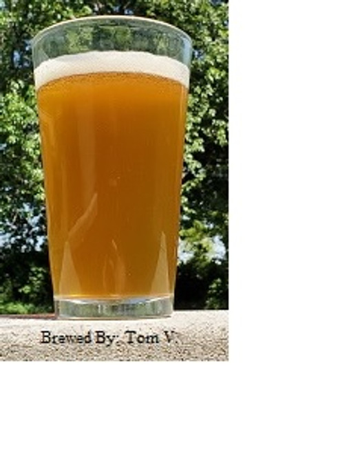 This beer placed 2nd in the Greater Topeka Hall of Foamers Brew Bash 2017 in the American IPA category, 21A.  This is the all grain version. Grains are un-milled. Contact the store to have grains milled before shipping.  This beer is a golden hued color, light caramel taste with a white head. Magnum hops for clean bittering, large amounts of late addition Citra hops and Citra dry hoped!