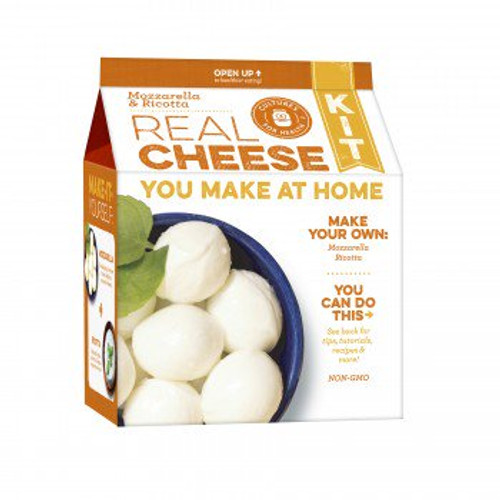 Mozzarella and Ricotta Cheese Making Kit. Make 30-minute mozzarella and creamy fresh ricotta with this beginner-friendly kit that's fun for the whole family. Our most popular cheese kit. Contains ingredients for 20 batches.